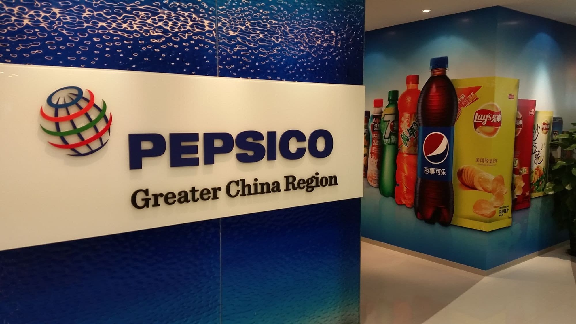 pepsico strategic group map
